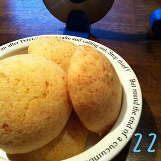 Homemade Pao de Queijo (Brazilian Cheese Bread)