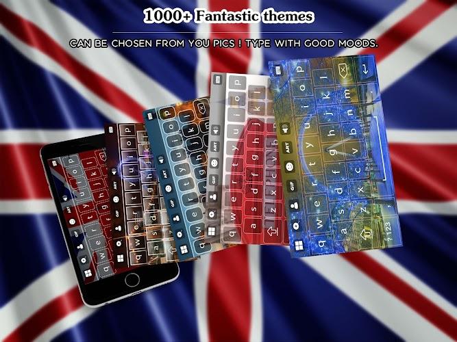 Download UK Keyboard APK latest version app by Best Theme