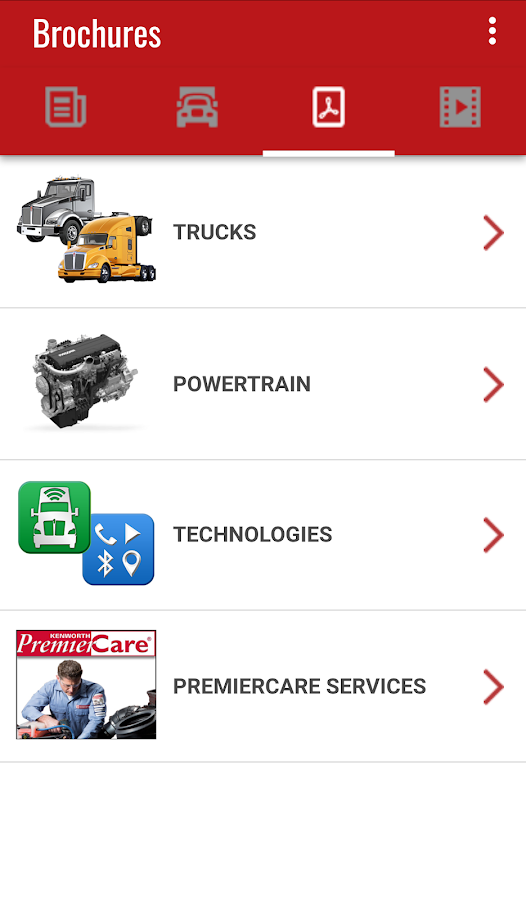 Kenworth® Essentials- screenshot