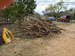 Photo: Branches removed at Stillhouse Hollow Preserve