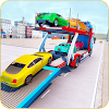 Car Transporter Trailer Truck Games 2019 APK Icon