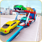 Car Transporter Trailer Truck Games 2019 icon