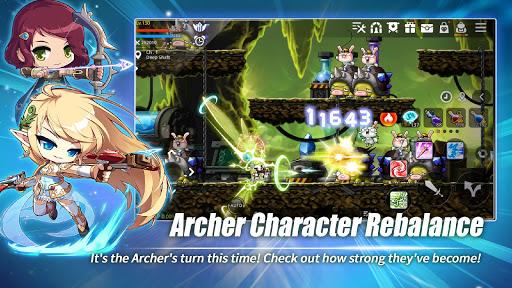Télécharger MapleStory M - Open World MMORPG mod apk screenshots 2