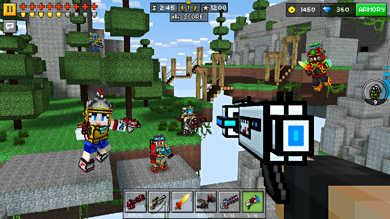 Screenshots of Pixel Gun 3D (Pocket Edition) for Android