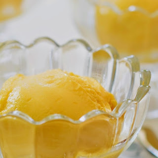 Mango Ginger Sorbet + A Donvier Ice Cream Machine Giveaway