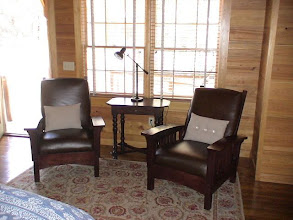 Photo: Sitting area - guest cabin number one