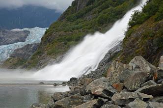 Photo: Nugget Falls - Mendenhall Glacier