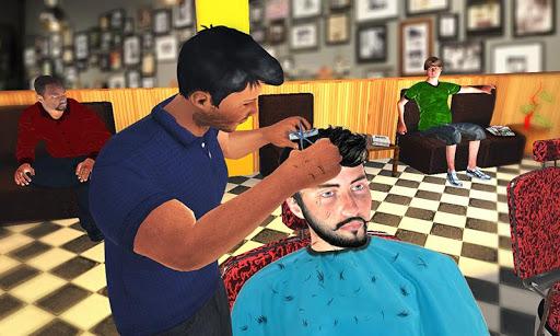 Barber Shop Hair Salon Cut Hair Cutting Games 3D 1.4.1 screenshots 2