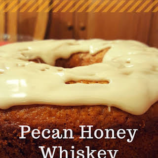 Pecan Honey Whiskey Bundt Cake.