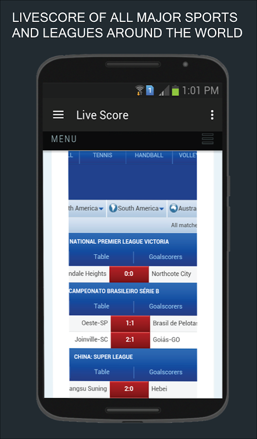 Sportlineng- screenshot