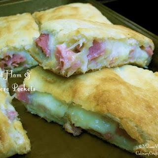 Easy Ham & Cheese Crescent or Pizza Pockets