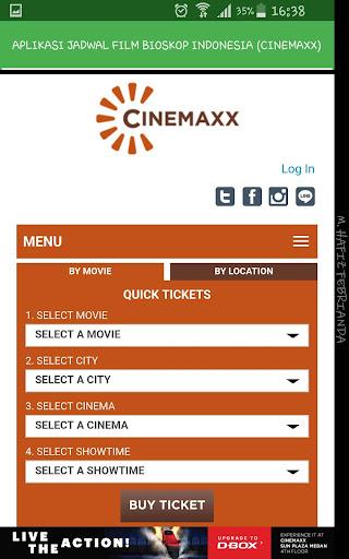Aplikasi Jadwal Film Bioskop Indonesia 1.0 screenshots 3