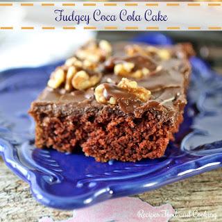 Fudgey Coca Cola Cake