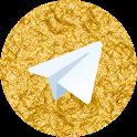 تلگرام طلایی icon