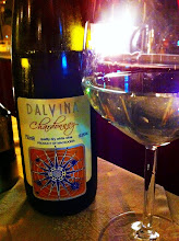 Photo: Macedonia produces great wine.  This Chardonnay was very good.  Ohrid.