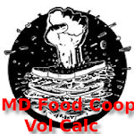 UMD Food Coop Volunteer Calc Icon