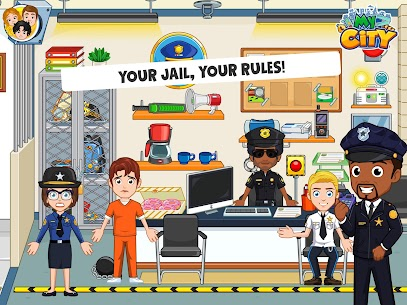 My City: Jail House Premium Apk [Paid for Free] 8