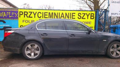 Photo: BMW 5 ( E60) przyciemnianie szyb folia jasna Llumar  35 przyciemnianie szyb z atestem profesjonalnie małopolska .Zapraszamy do odwiedzenia naszej strony www.venaplex.pl