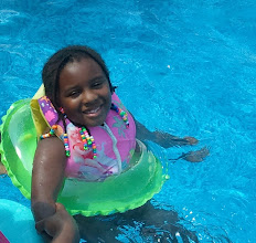 Photo: Kaleya was doing great in the water!