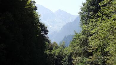 Photo: Az első kilátás a hegyóriásra