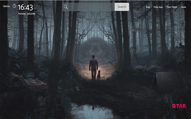 Blair Witch Wallpapers New Tab Theme
