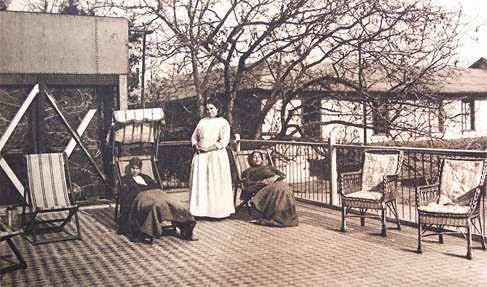 Antigua foto de las hermanas de la caridad