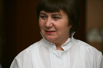 Photo: Varga Katalin, a nyugdíjas előadások szervezője (Örökmozgó)
