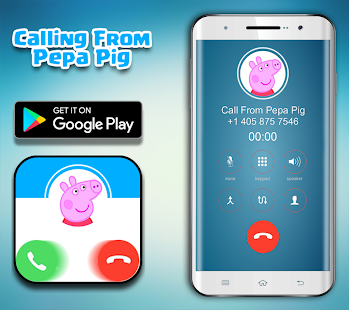 Call From Pepa Pig - Fake Call - náhled