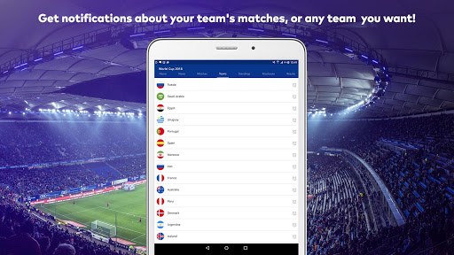 World Cup 2018 in Russia - Live Score, Match, News 6.0 screenshots 11