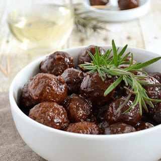Slow Cooker Cocktail Meatballs.