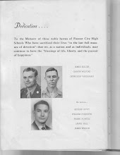 Photo: Fallen Heroes of FCHS in WWII:Pictures: James Sulcer, Garvin Wilford, Derrough Vardaman No Picture:George Levitt, William Pounders, Frank Powers, James Hall, James Wilson