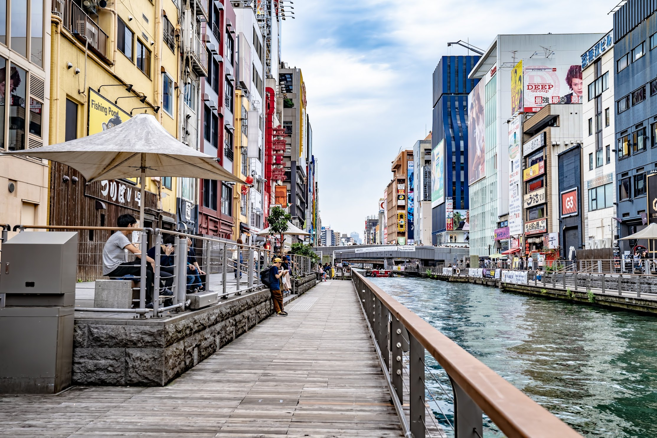 Dotonbori Riverwalk1