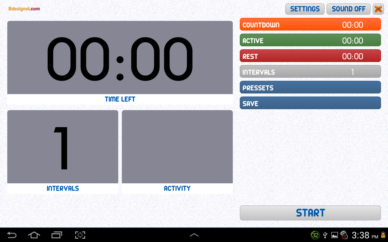 ProTimer -  Sync your workouts- screenshot