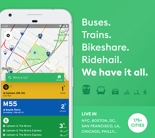 Transit: Real-Time Transit App 5.2.18 screenshots 1