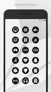 Dark Void - Black Circle Icons (Free Version)- screenshot thumbnail