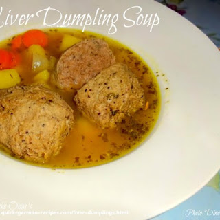 1. Oma'S Liver Dumplings Soup Recipe