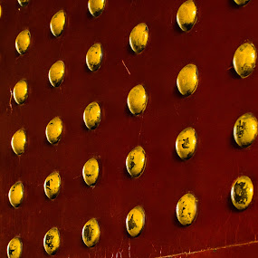 Dots by Pilar Gonzalez - Abstract Patterns ( ancient city, door, dots, chinese, golden,  )