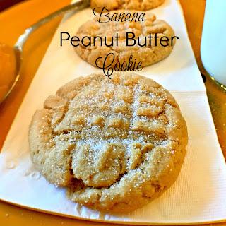 Banana Peanut Butter Cookies.