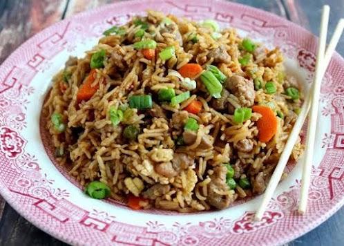 Slammin Pork Fried Rice