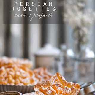 Persian Rosettes aka Window Cookies (nan panjereh)