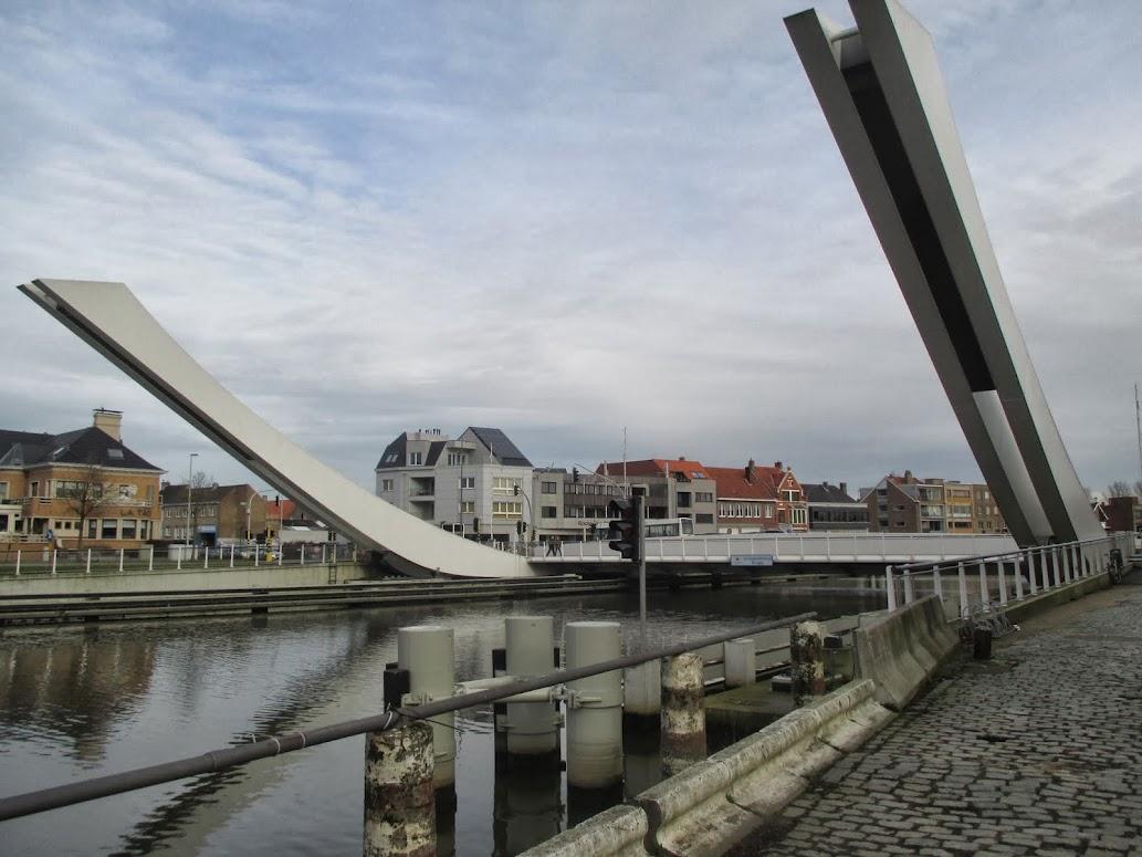 Scheepdsdalebrug in Brugge