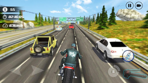 Highway Moto Rider - Traffic Race 1.6 Screenshots 3