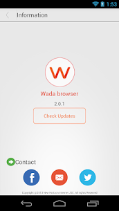 WADA Browser: fast browser Apk  Download For Android 3