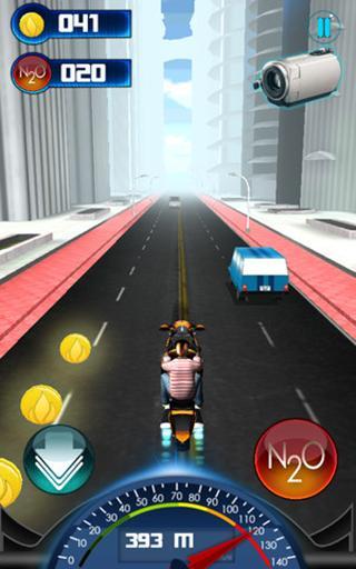 Dangerous Biker : A 3D Game