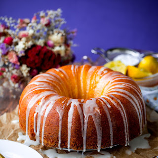 Lemon Pound Bundt Cake.