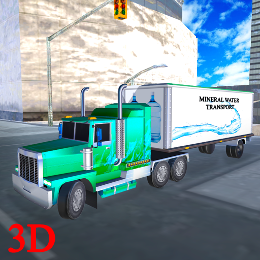 Mineral Water Truck Transporter (game)