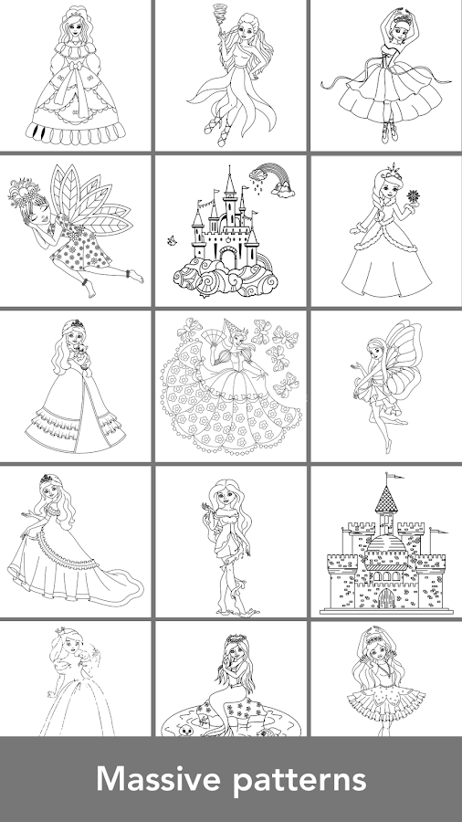 Princess Coloring Books - Android Apps on Google Play