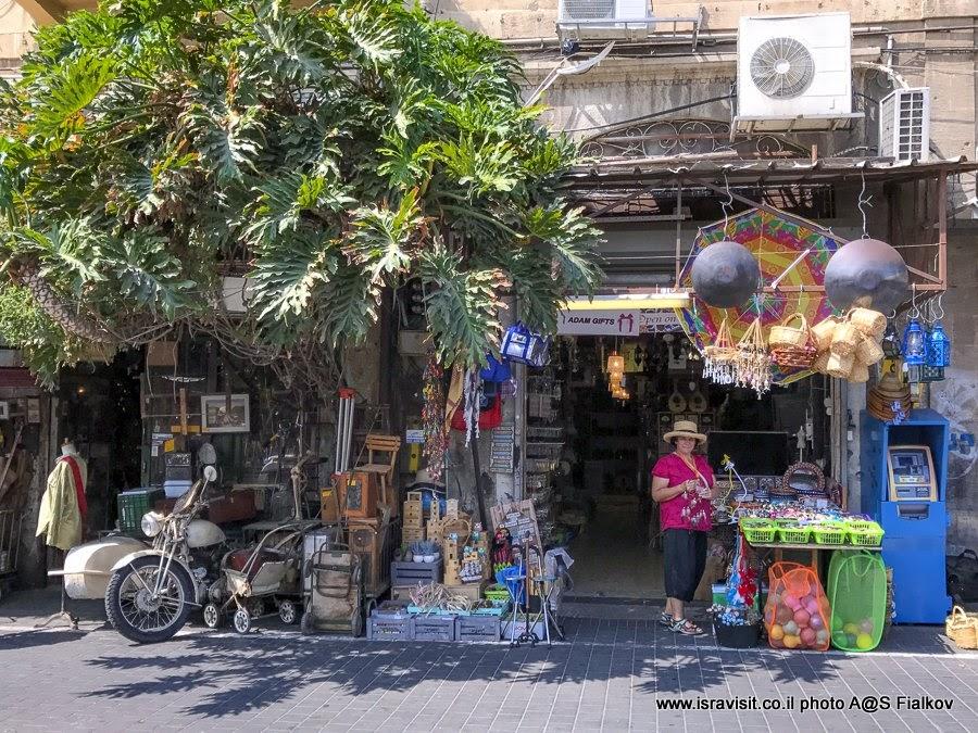Блошиный рынок Пишпишим. Экскурсия в Яффо с гидом в Израиле Светланой Фиалковой.