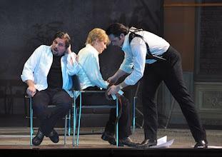 Photo: Wiener Staatsoper: LA CLEMENZA DI TITO - Inszenierung Jürgen Flimm. Premiere 17.5.2012. Michael Schade, Elina Garanca, Adam Plachetka. Foto: Barbara Zeininger