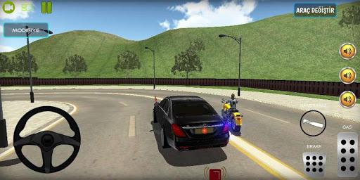 Başkan Koruma Oyunu - Passat Araba Başkan Koruma 1.3 screenshots 2